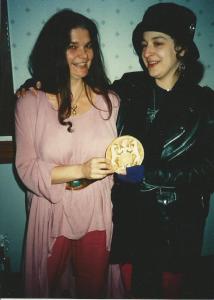 Morning Glory Zell-Ravenheart (left): May 27, 1948 – May 13, 2014